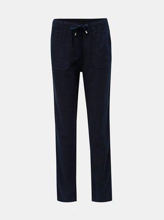 Pantaloni albastru inchis din in M&Co