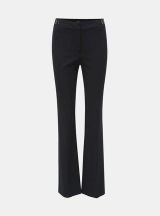 Pantaloni albastru inchis slim fit M&Co