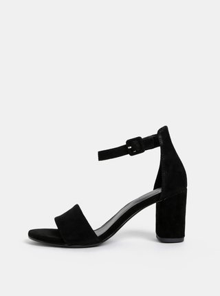 Černé semišové sandálky Vagabond Penny