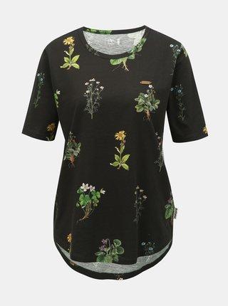 42a1c4f8c801 Čierne tričko s čipkou v dekolte Jacqueline de Yong Carly