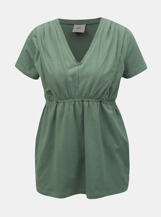 Zelený kojicí top Mama.licious