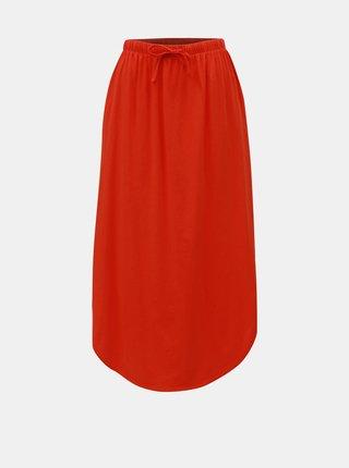 Červená maxi sukně Jacqueline de Yong Austin