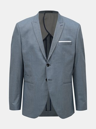 Modré oblekové slim fit sako Selected Homme Freesum