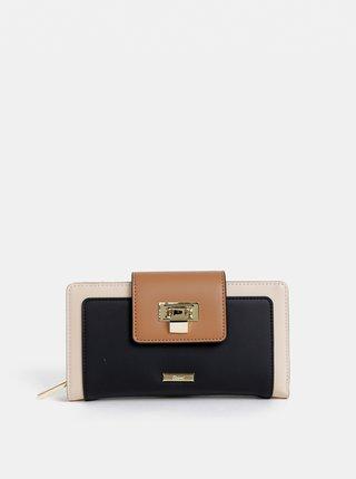 Černo-béžová peněženka Gionni Coco