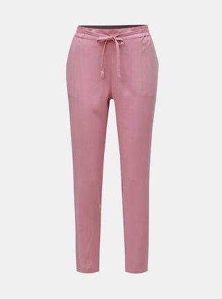 Pantaloni roz prafuit VERO MODA Simply Easy