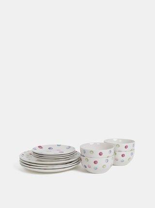 Sada dvanácti kusů puntíkovaného nádobí Cooksmart