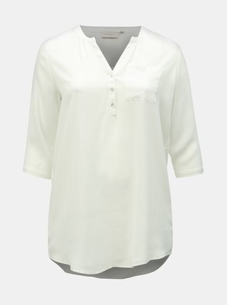 Bluza alba lunga cu buzunar ONLY CARMAKOMA Resource