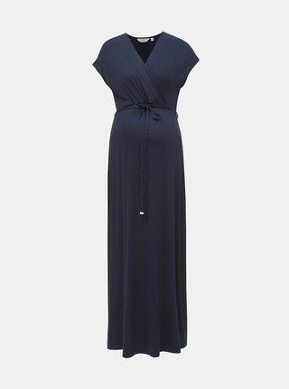 Rochie maxi albastru inchis pentru femei insarcinate Dorothy Perkins Maternity