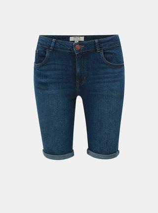 Tmavě modré džínové kraťasy Dorothy Perkins Petite