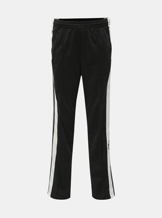Čierne dámske tepláky s nášivkou adidas Originals Adibreak