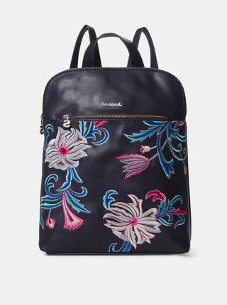 Tmavomodrý batoh s výšivkou Desigual Orangina Nanaimo