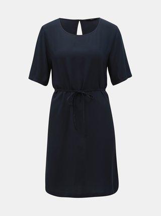 Rochie albastru inchis cu decupaj la spate ONLY First