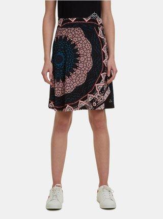 Čená vzorovaná sukně Desigual Nise