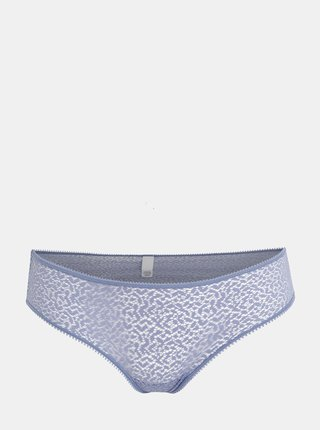 Modré krajkové kalhotky DKNY
