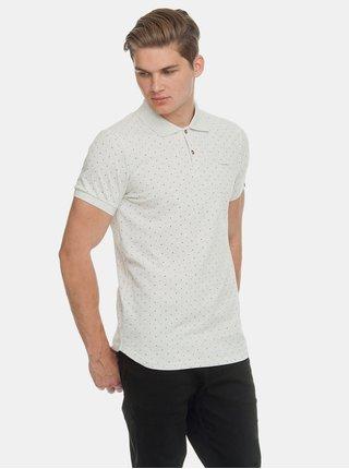 Světle šedé pánské puntíkované polo tričko Ragwear Marny