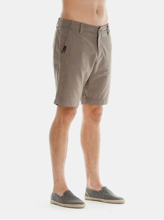 Pantaloni scurti barbatesti gri deschis regular fit Ragwear Karel Melange