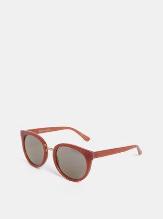 Ružové slnečné okuliare Pieces Betty