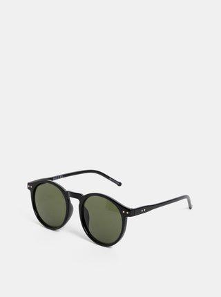 Černé sluneční brýle Pieces Centucky