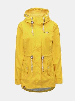 296896aa33 Žltá dámska nepremokavá tenká parka Ragwear Monadis Rainy