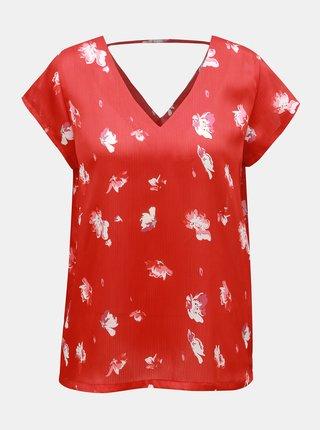 Bluza rosie florala ONLY Giza