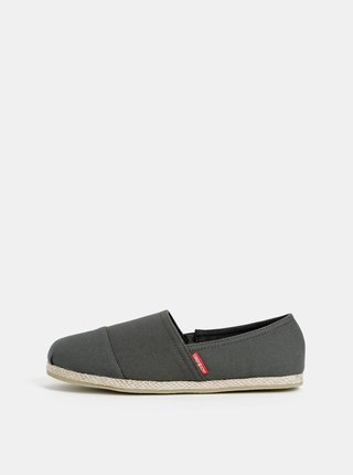 Espadrile barbatesti kaki Jack & Jones