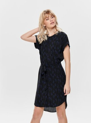 Černé vzorované šaty Jacqueline de Yong Josephine