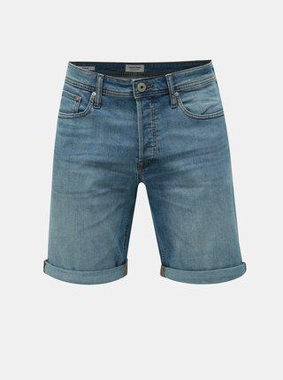 Pantaloni scurti albastru deschis regular fit din denim Jack & Jones Rick