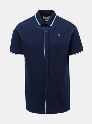Tmavě modrá slim fit košile Jack & Jones Ebti
