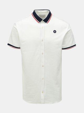 Bílá slim fit košile Jack & Jones Ebti