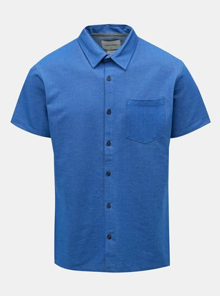 Camasa albastra melanj slim fit Jack & Jones Owen