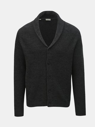 Cardigan gri inchis Selected Homme Victor