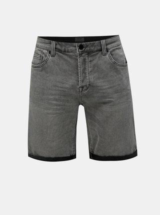 Pantaloni scurti gri din denim ONLY & SONS Ply