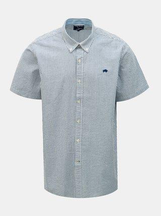 Modrá pruhovaná košile Raging Bull