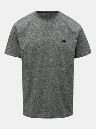 Šedé žíhané tričko Raging Bull