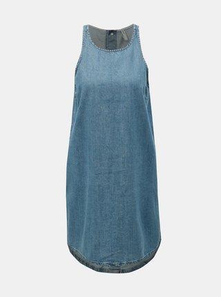 db160a3e6bd4 Modré rifľové šaty ONLY Carlir