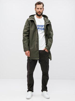 Khaki parka Burton Menswear London