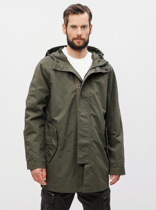 Kaki parka Burton Menswear London