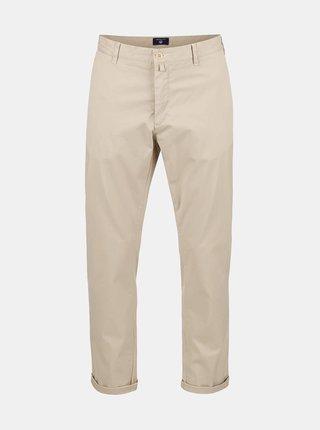 Béžové pánské chino kalhoty GANT