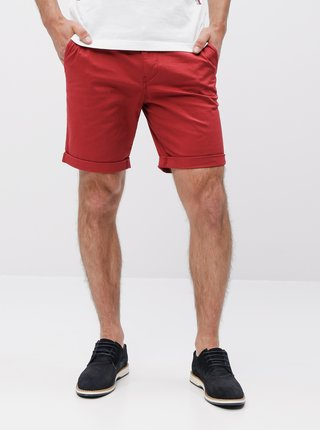Pantaloni scurti rosii chino Selected Homme Paris