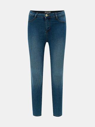Modré skinny fit džíny Dorothy Perkins Petite Frankie