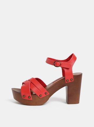 1ad11e649936 Červené sandále Dorothy Perkins