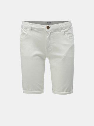 Bílé džínové kraťasy Dorothy Perkins Petite