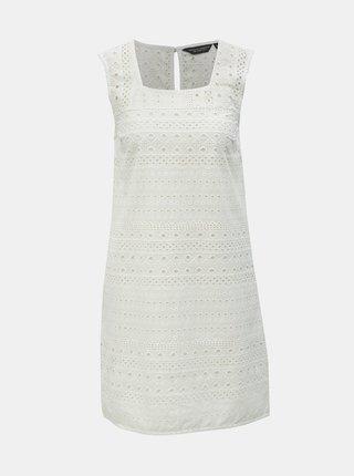 Bílé šaty s madeirou Dorothy Perkins