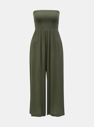 Salopeta scurta verde Miss Selfridge