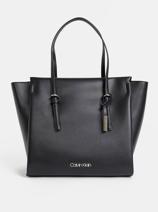 Čierna kabelka Calvin Klein Jeans