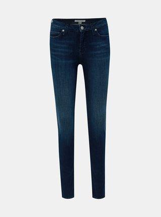 Tmavomodré dámske skinny fit rifle Calvin Klein Jeans