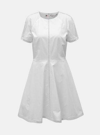 Bílé šaty Tommy Hilfiger Daria
