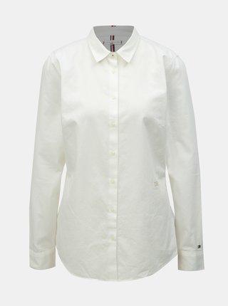 1fdf5d57eb69 Biela dámska fitted košeľa Tommy Hilfiger Jenna
