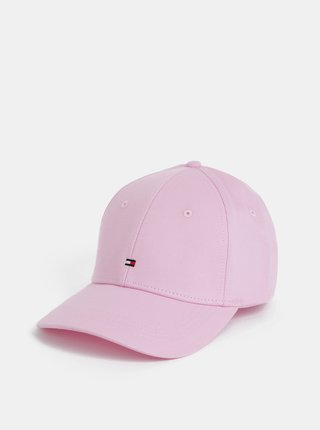 Růžová dámská kšiltovka Tommy Hilfiger
