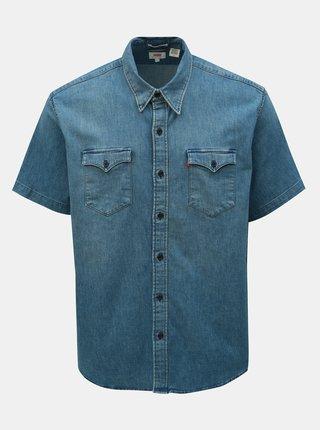 Modrá pánska rifľová košeľa Levi's®